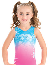 Anna and Elsa Snowflake Leotard from GK Gymnastics