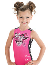 Rock the Dots Minnie Leotard from GK Gymnastics
