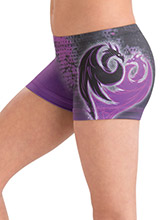 Daring Descendants Shorts from GK Gymnastics