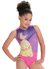 Beauty and The Beast Leotard from GK Gymnastics