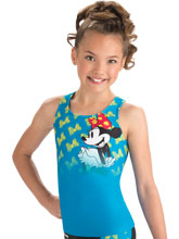 Flutter Bow Minnie Cheer Tank Top from GK Cheer