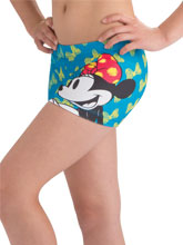 Flutter Bow Minnie Workout Shorts from GK Cheer