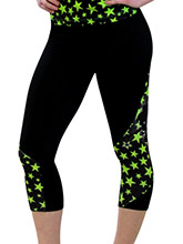 Pixie Dust Capri Pant from GK Cheer