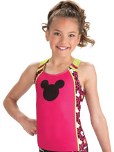 Mickey Print Cheer Long Top from GK Cheer