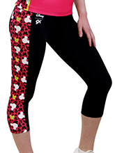 Mickey Print Capri Pant from GK Cheer
