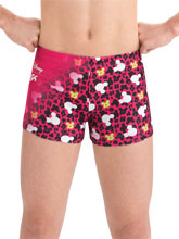Mickey Print Workout Shorts from GK Cheer