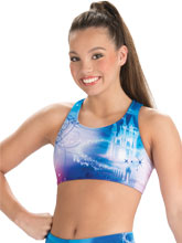 Cinderella Castle Cheer Crop Top from GK Cheer