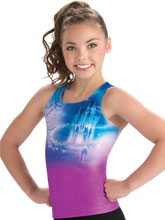 Cinderella Castle Cheer Tank Top from GK Cheer