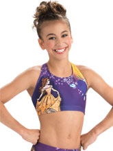 Beauty and the Beast Cheer Crop Top from GK Cheer