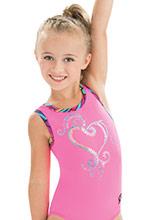 GKids Twinkle Heart Leotard  from GK Gymnastics