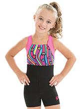 GKids Sassy Swirl Biketard  from GK Gymnastics
