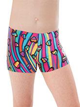 GKids Sassy Swirl Shorts  from GK Gymnastics