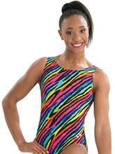 Rainbow Fever Gymnastics Leotard from GK Elite