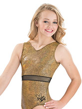 Nastia Liukin Golden Girl Leotard  from GK Gymnastics