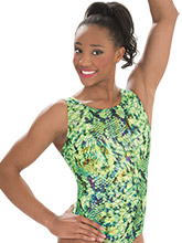 Lime Potion Gymnastics Leotard from GK Gymnastics