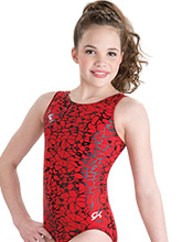 Hot Honeycomb Gymnastics Leotard from GK Gymnastics