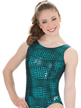 Geo Link Workout Leotard from GK Gymnastics