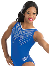 Gabby Douglas Midnight Shimmer Leotard from GK Gymnastics