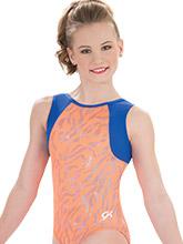 Orange Tigress Workout Leotard from GK Gymnastics