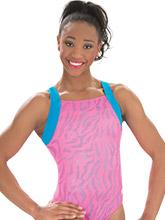 Pink Tigress Workout Leotard from GK Gymnastics