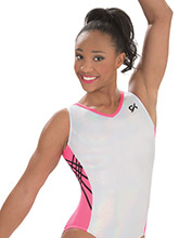 Opal Coral Workout Leotard from GK Gymnastics