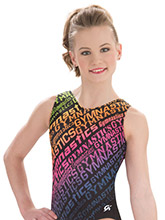 Rainbow Graffiti Leotard by Nastia Liukin from GK Gymnastics