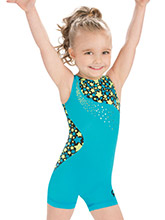 GKids Swirling Stars Biketard from GK Gymnastics
