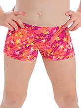 GKids Scribble Stars Workout Shorts from GK Gymnastics
