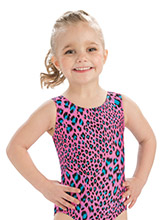 GKids Pink Lynx Gymnastics Leotard from GK Gymnastics