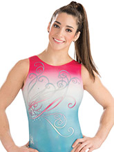 Aly Raisman Enchanted Leotard from GK Gymnastics