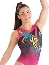Aly Raisman Fiesta Fashion Leotard from GK Gymnastics