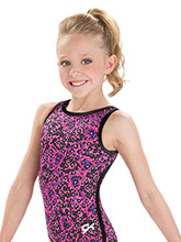 GKids Kitty Hearts Leotard from GK Gymnastics