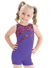 GKids Cats Meow Biketard from GK Gymnastics