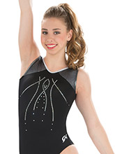 Sparkling Nights Gymnastics Leotard from GK Gymnastics