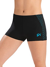 Dancing Dots Workout Shorts from GK Gymnastics