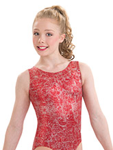 Red Fusion Workout Tank from GK Gymnastics