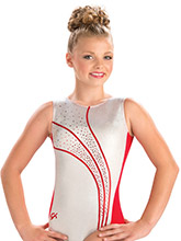 Volcano Sparkle Tank Leotard from GK Gymnastics