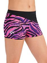 Neon Spellbound Workout Shorts from GK Gymnastics
