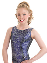 Purple Fusion Workout Leotard Leotard from GK Gymnastics