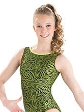 Holly Hologram Workout Leotard from GK Gymnastics