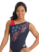 Gabby Douglas Asym Glory Leotard from GK Gymnastics