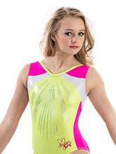 Nastia Liukin Kiwi Blush Leotard from GK Gymnastics