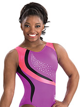 Simone Biles Purple Wonder Leotard from GK Gymnastics
