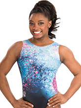 Simone Biles Starry Explosion Leotard from GK Gymnastics