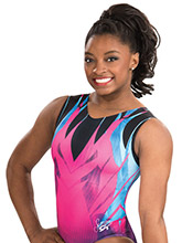Simone Biles Magnificence Leotard from GK Gymnastics
