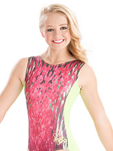 Nastia Liukin Wild Watermelon Leotard from GK Gymnastics
