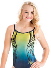 Nastia Liukin Daring Dragonfly Leotard from GK Gymnastics