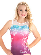 Nastia Liukin Charming Elegance Leotard from GK Gymnastics
