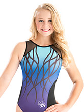 Nastia Liukin Enchanting Abyss Leotard from GK Gymnastics