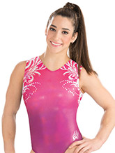 Aly Raisman Simply Divine Leotard from GK Gymnastics